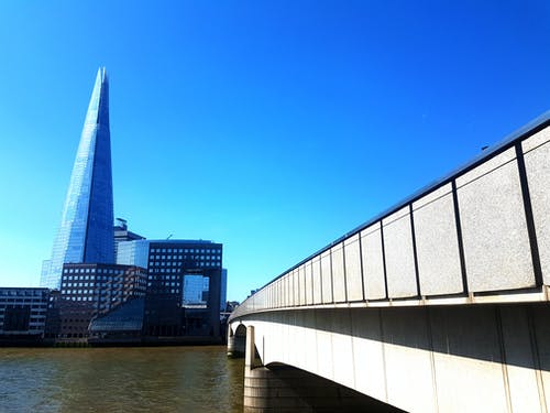 シャード, ブリッジ, ロンドン橋の無料の写真素材