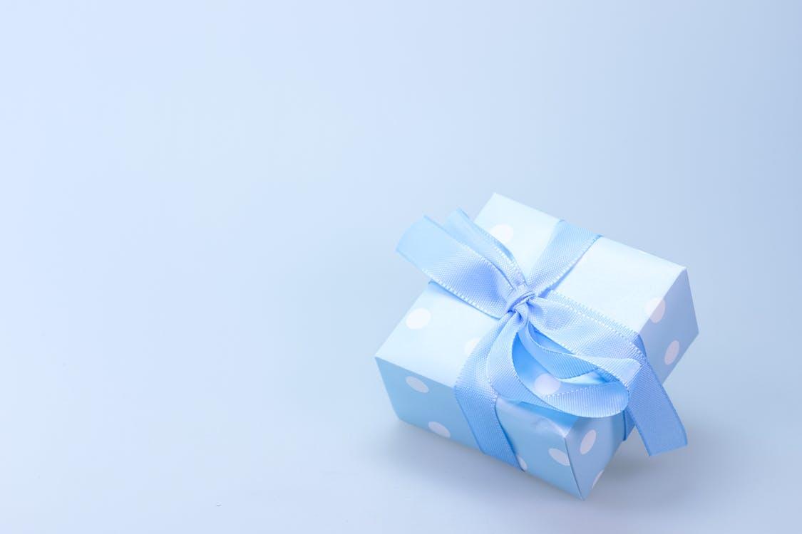 διακόσμηση, δώρο γενεθλίων, κορδέλα