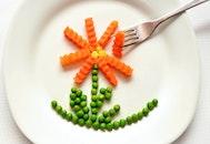 food, plate, vegetables