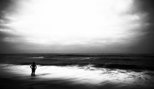Free stock photo of beach, beach waves, breaking waves