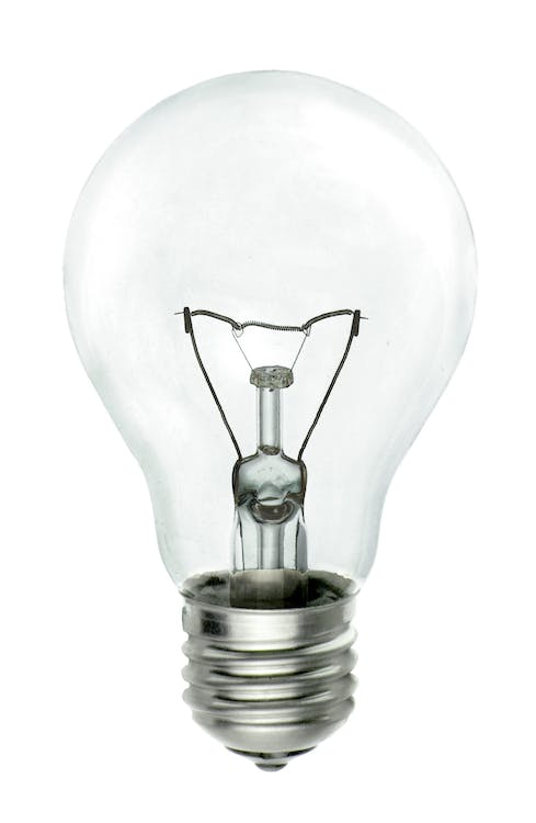 Clear Electric Bulb