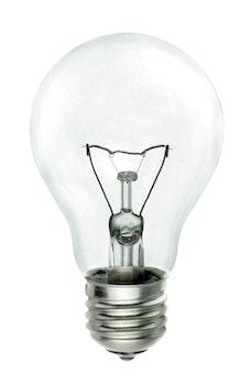 Clear Electric Bulb