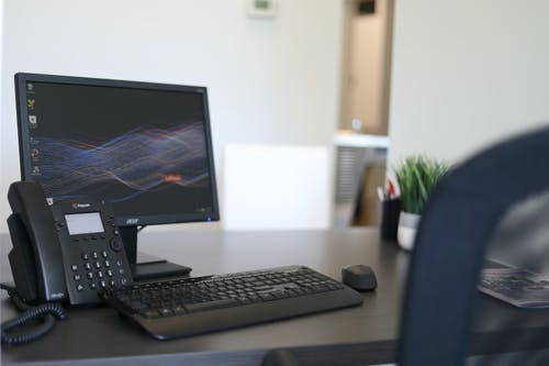 Free stock photo of desk, furniture, office, phone