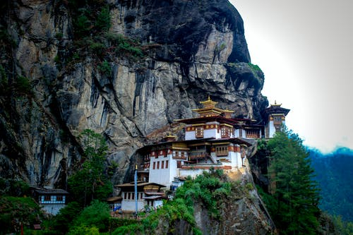 Templo, Bután, Viaje