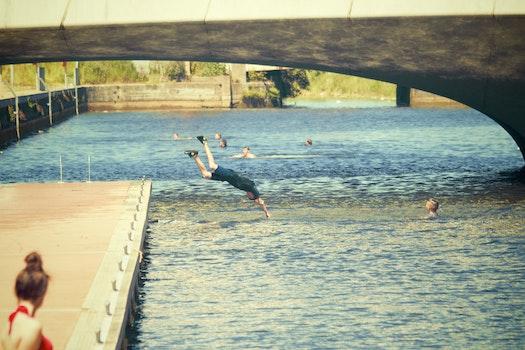 Free stock photo of sunny, summer, lake, river