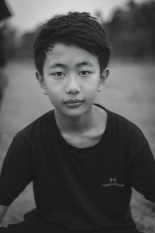 Foto profissional grátis de Asiático, bonitinho, fofo, garoto asiático