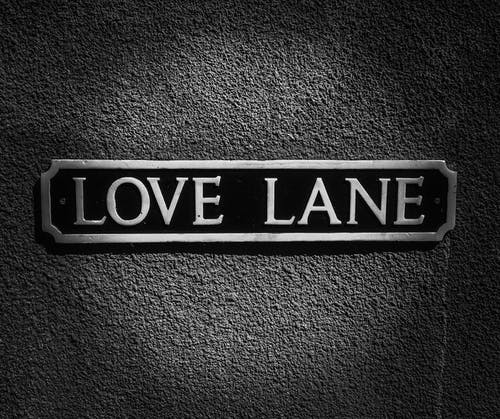 Free stock photo of love, sign, street sign