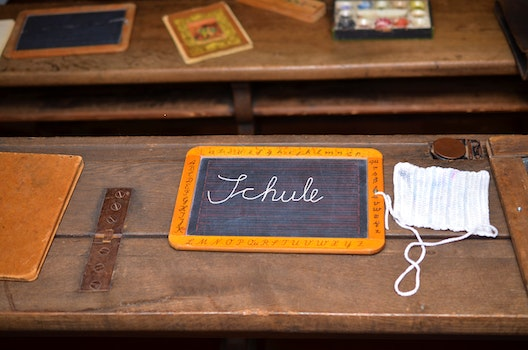 Free stock photo of wood, writing, vintage, table