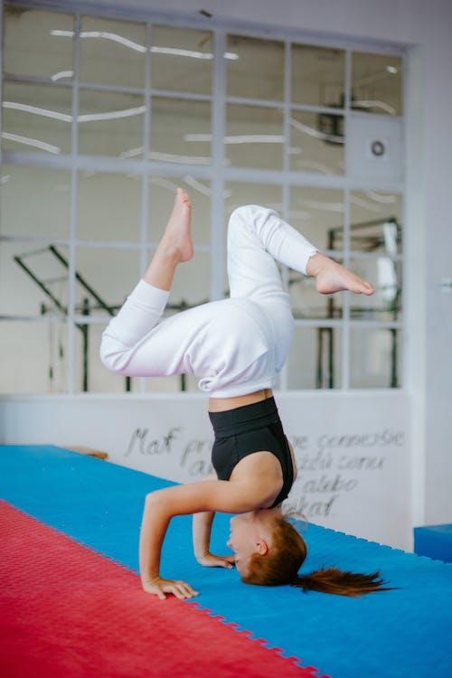 Kostnadsfri bild av anda, ansträngning, asana, balans
