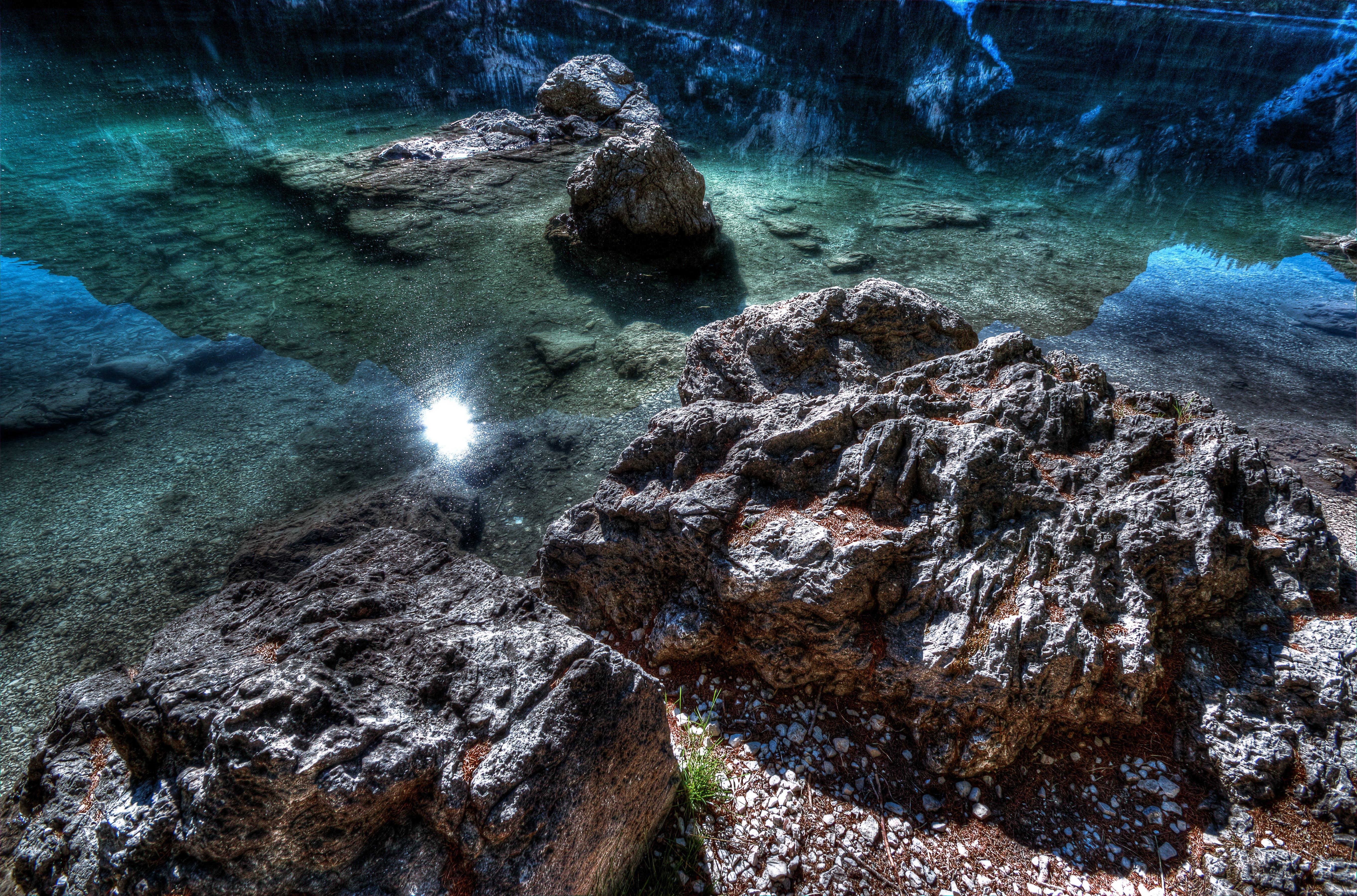 blue water, daylight, environment