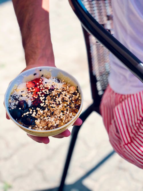 Free stock photo of Acai bowl, eating healthy, healthy food, healthy lifestyle
