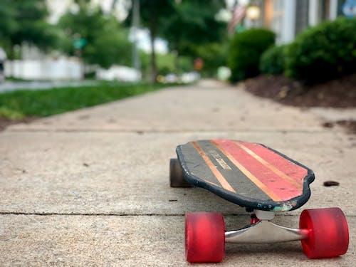 Free stock photo of sidewalk, skateboard
