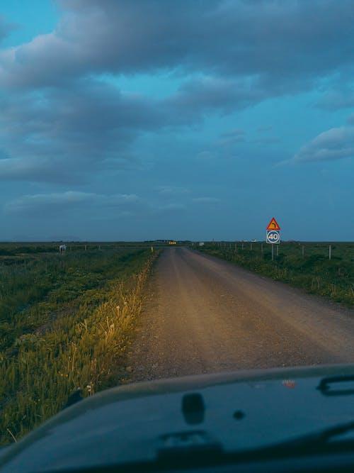 Foto profissional grátis de alvorecer, amanhecer, ao ar livre, asfalto