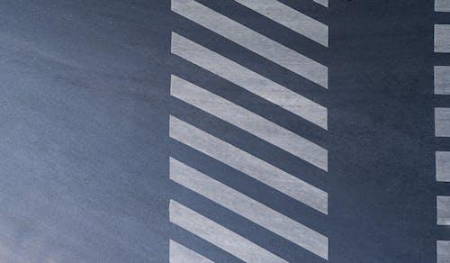 Background of zebra crossing on asphalt road