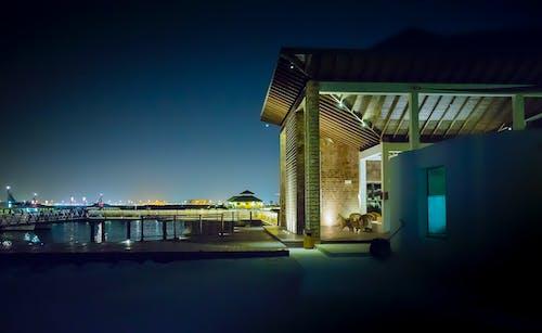 Gratis lagerfoto af aften, arkitektdesign, arkitektur, belyst