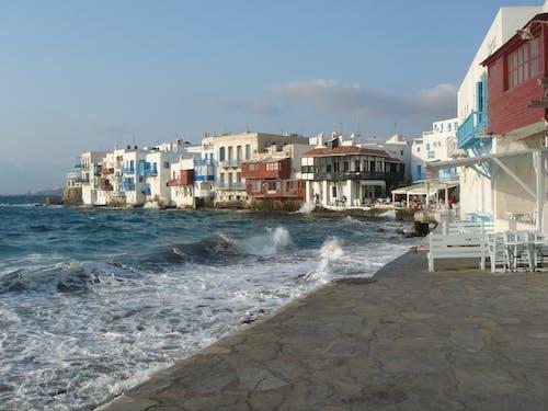 Free stock photo of Agua de mar, grecia, islas, mykonos