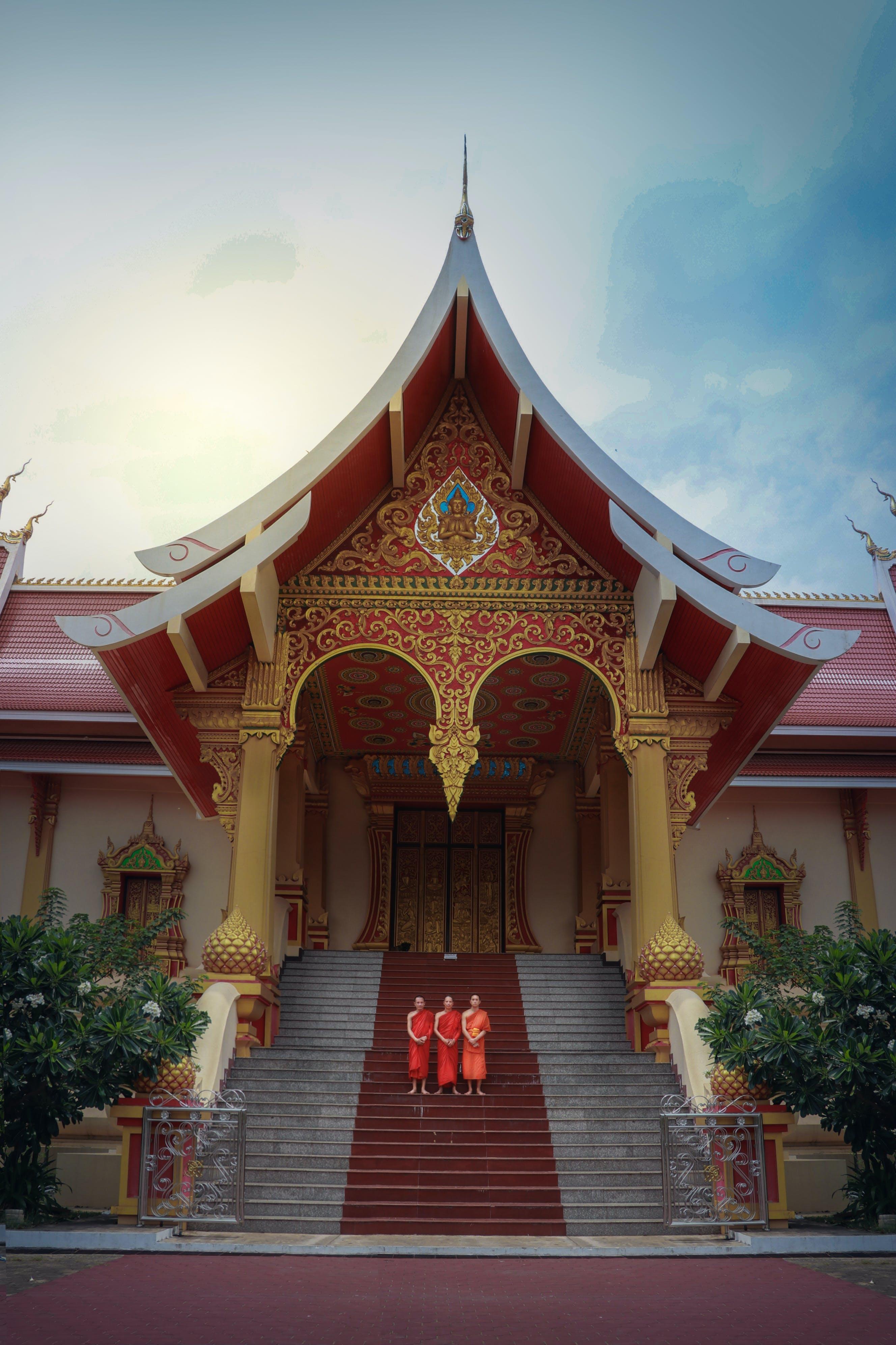Free stock photo of Laos Dramma Hall