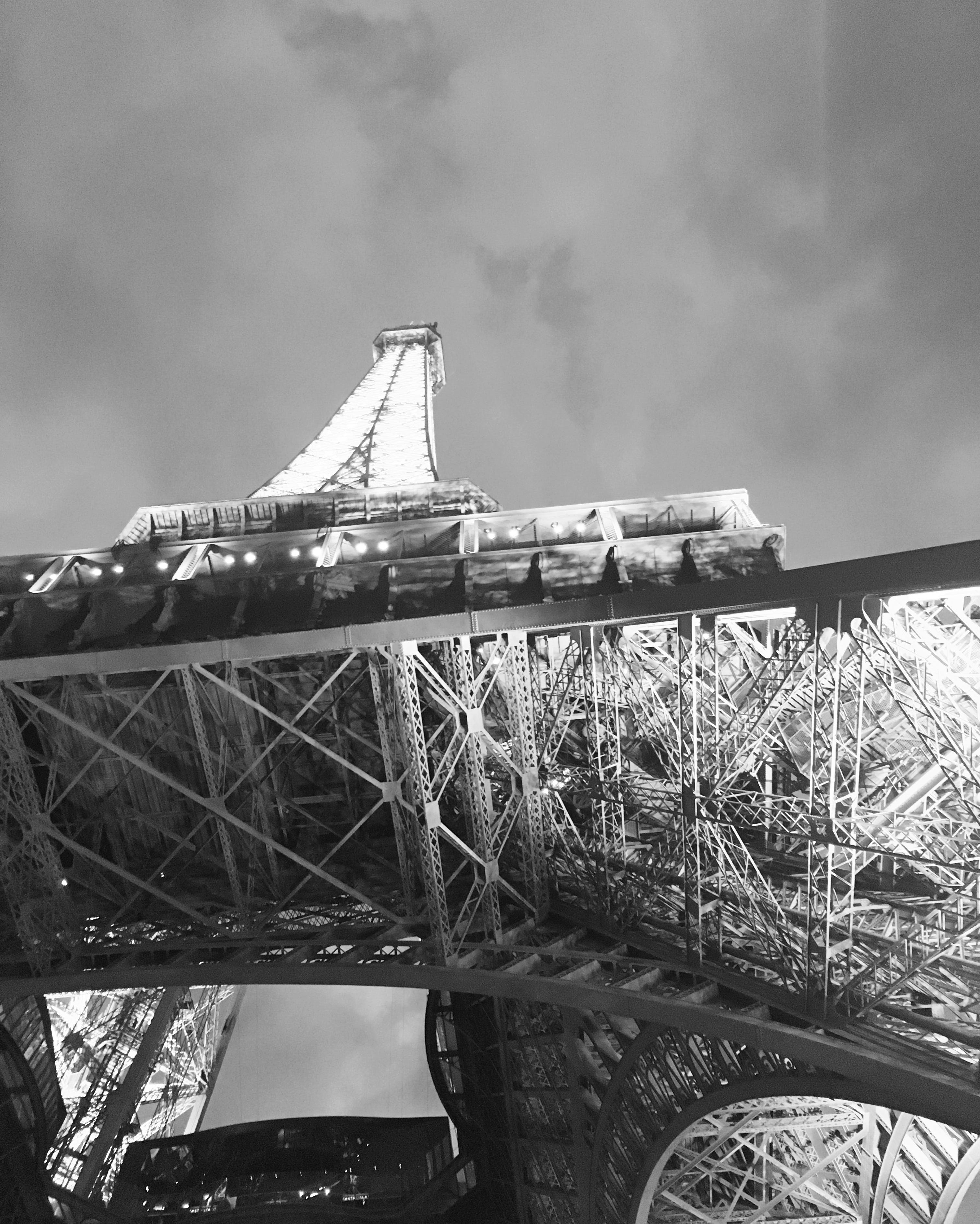 Free stock photo of black and white, eiffel tower, france, paris