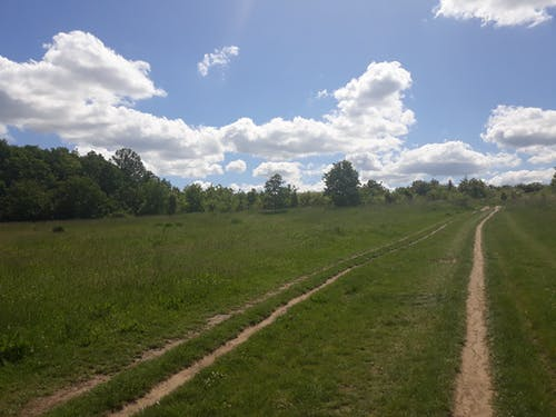 Free stock photo of clouds, path, sky