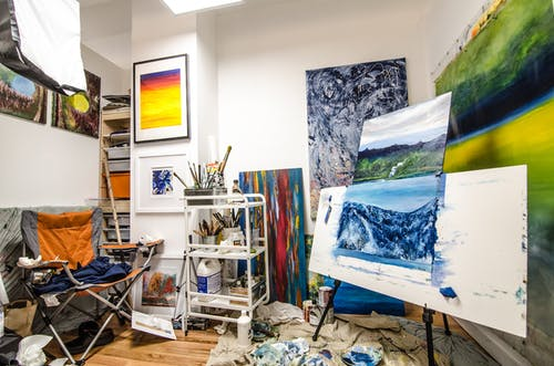 미술 전시회, 아트 갤러리, 아티스트 공간, 업무 공간의 무료 스톡 사진