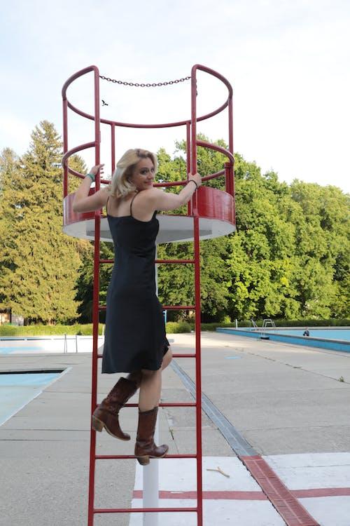 Kostenloses Stock Foto zu blond, fashion, finny, fotomodell