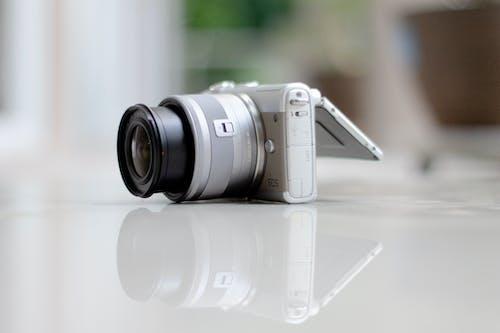 Close Up of Digital Camera