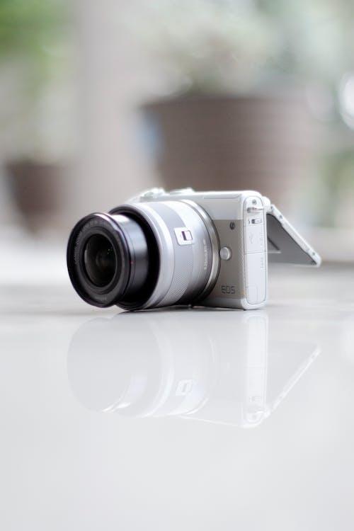 Digital Camera on the Floor