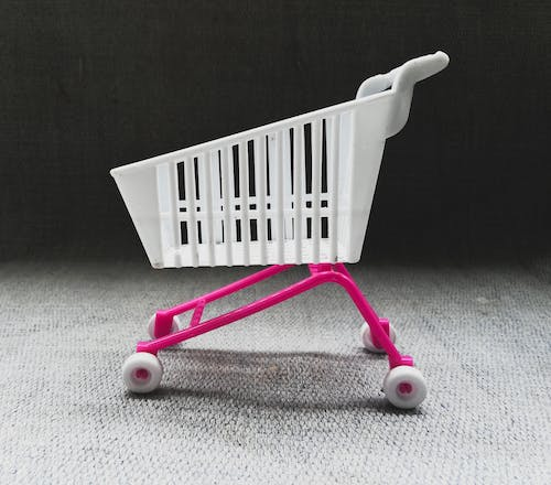 Free stock photo of cart, miniature, online shopping