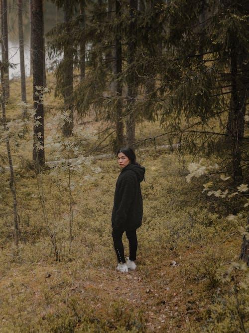 Бесплатное стоковое фото с взгляд назад, Взрослый, деревья