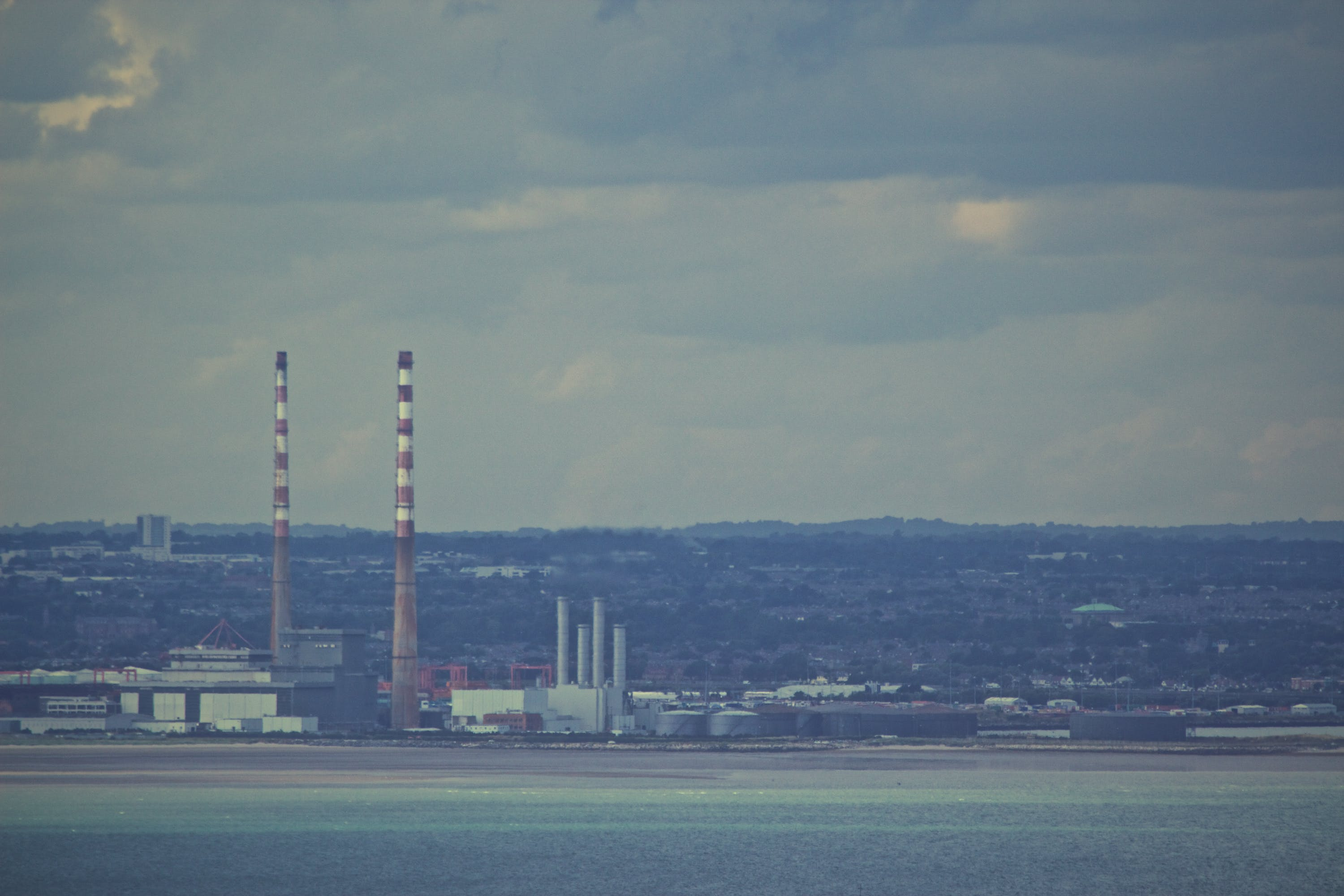 Free stock photo of industry, factory, chimneys