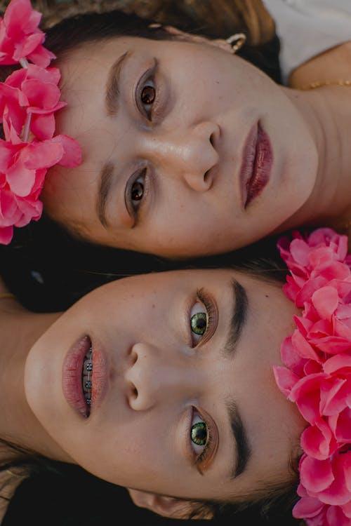 Kostnadsfri bild av ansikte mot ansikte, Arv, asiatiska kvinnor, asiatiska människor