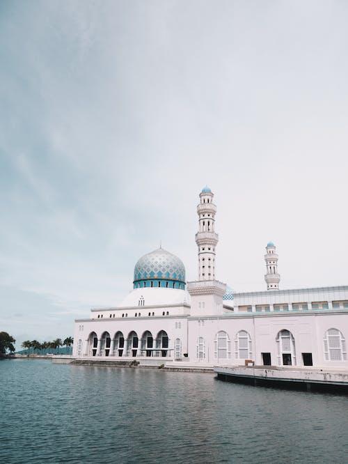 Famous City Mosque in Kota Kinabalu, Malaysia