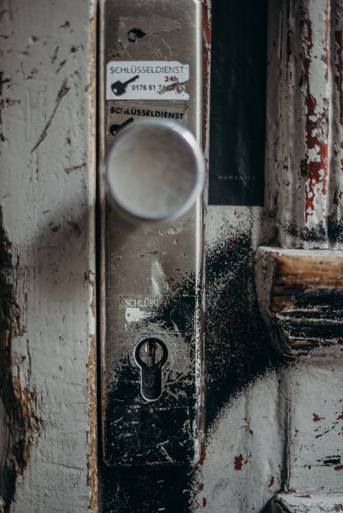 Kostenloses Stock Foto zu alt, alte tür, architektonisches detail