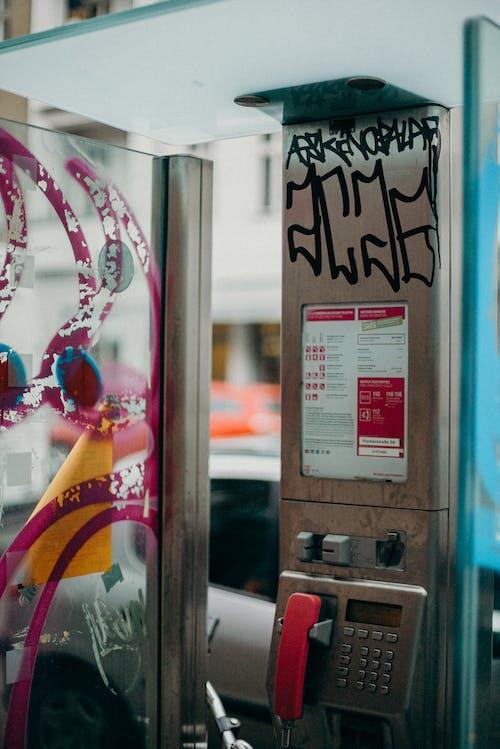 Foto stok gratis alat, Berlin, bilik telepon, di luar ruangan
