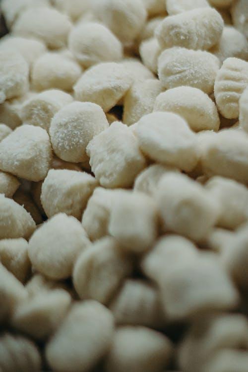 White Beans on White Textile
