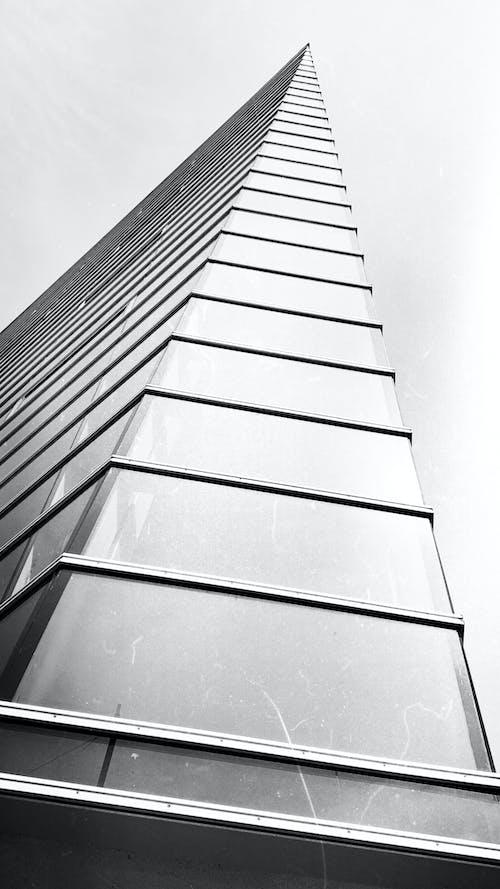 Kostnadsfri bild av arkitektur, bw, byggnad