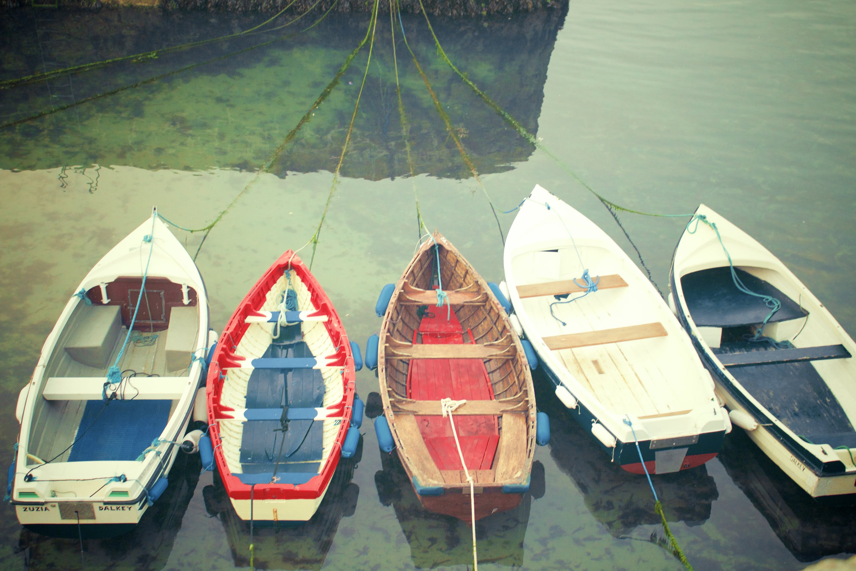 boats, lake