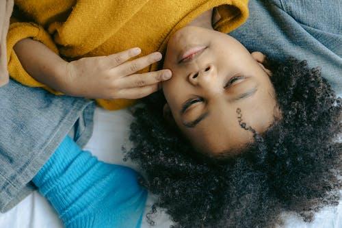 アパート, アフリカ系アメリカ人, インドア, うその無料の写真素材