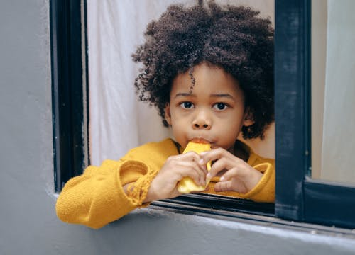 アフリカ系アメリカ人, うれしい, エスニック, おいしいの無料の写真素材