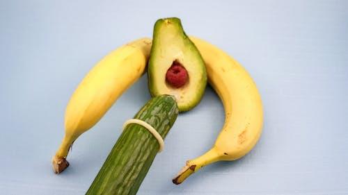 Free stock photo of adult, condom, erotic, foodporn