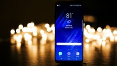 lights, smartphone, dark