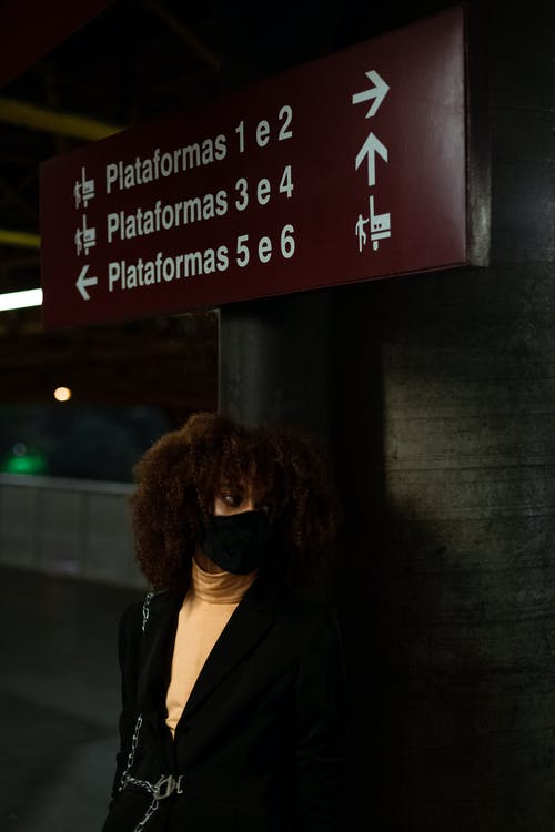 Foto d'estoc gratuïta de afro, amb classe, aparença, colors freds