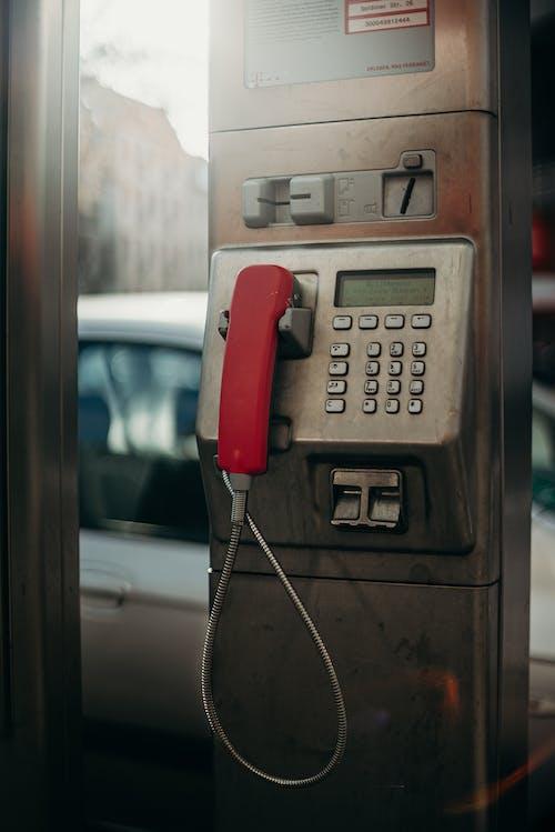公共電話, 公用電話, 城市, 城市生活 的 免费素材图片