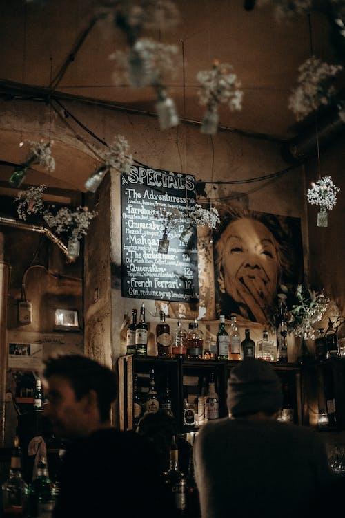 Immagine gratuita di arredamento, bar, bar caffetteria, barra