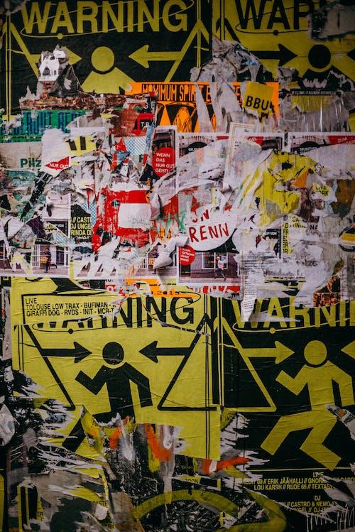 Foto stok gratis affiche, Berlin, dinding