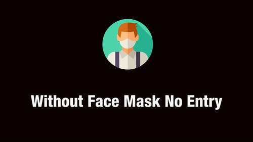 Free stock photo of face mask, no entry, personal protection