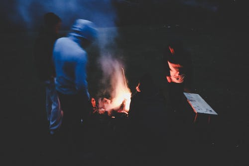 Free stock photo of bonfire, dark, fire, magic