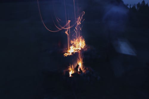 Free stock photo of art, bonfire, dark, fire