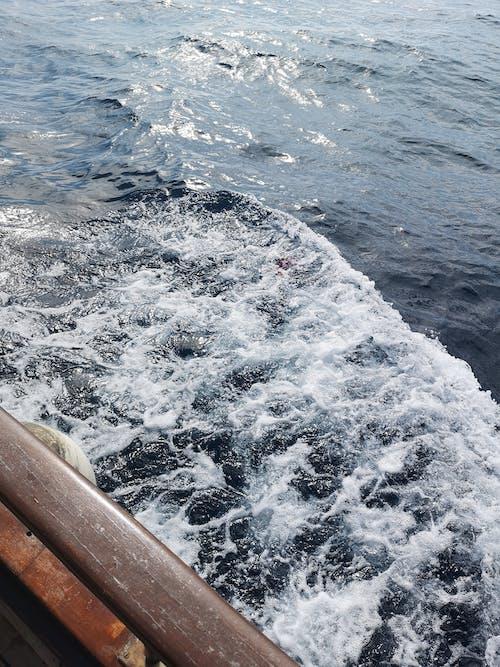 Бесплатное стоковое фото с аквамарин, блестящий, буря