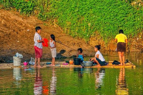 Photos gratuites de adulte, calamité, canoë, catastrophe naturelle